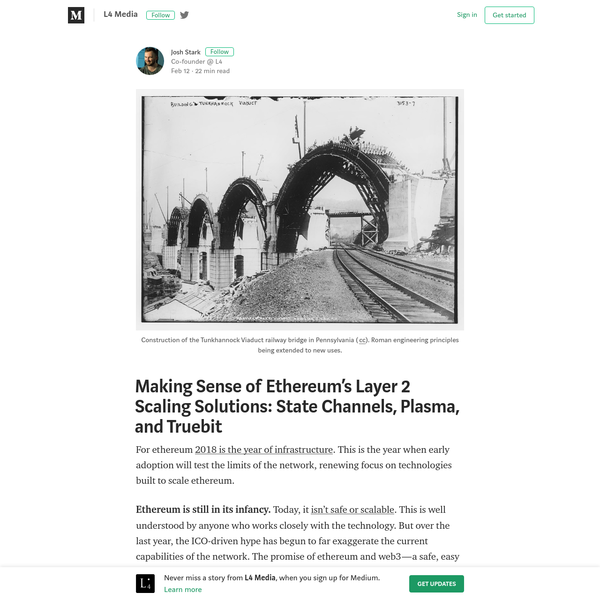"""First, it's important to understand that """"scaling"""" isn't a single, specific problem. It refers to a collection of challenges that must be overcome to make ethereum useful to a global user base of billions of people. The most commonly discussed scaling challenge is transaction throughput."""