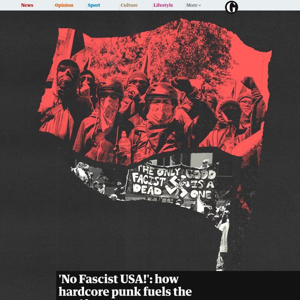 'No Fascist USA!': how hardcore punk fuels the Antifa movement