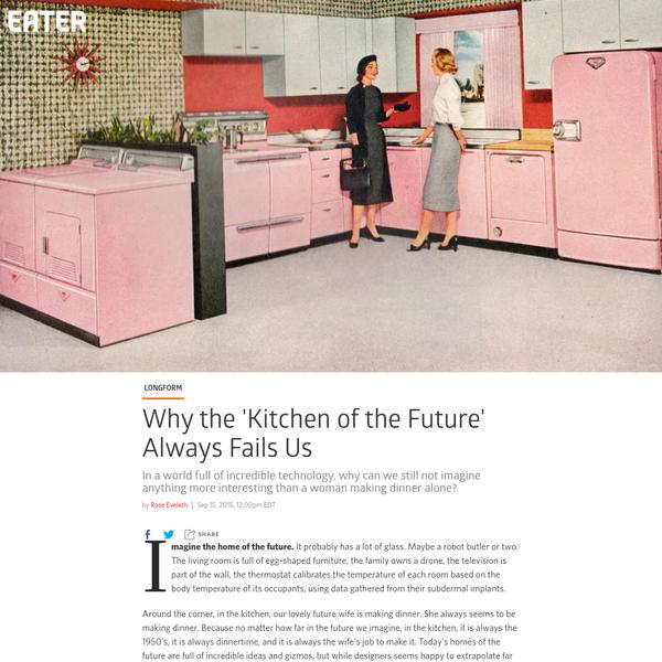The 'Kitchen of the Future' Isn't Just Retro, It's Regressive
