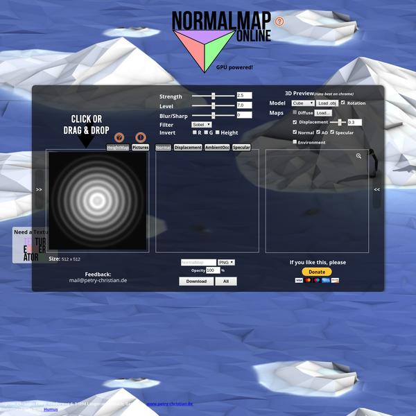 NormalMap Generator