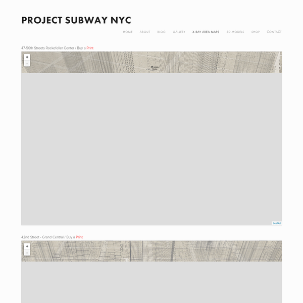 New York City (NYC)'s subway's station layouts, in the form of illustrations and photographs.