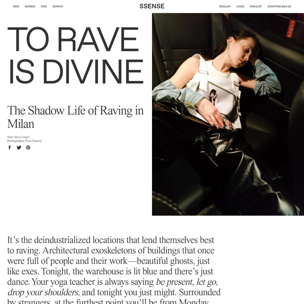 To Rave is Divine