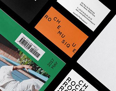 Roche Musique Record-Brand Identity