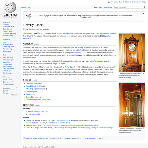 Beverly Clock - Wikipedia
