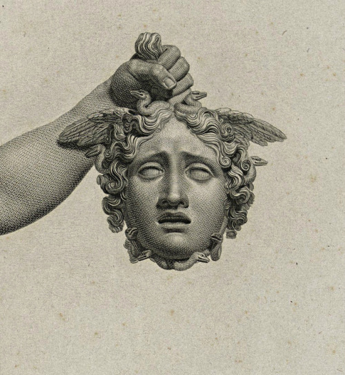 Detail : Perseus with the Head of Medusa...