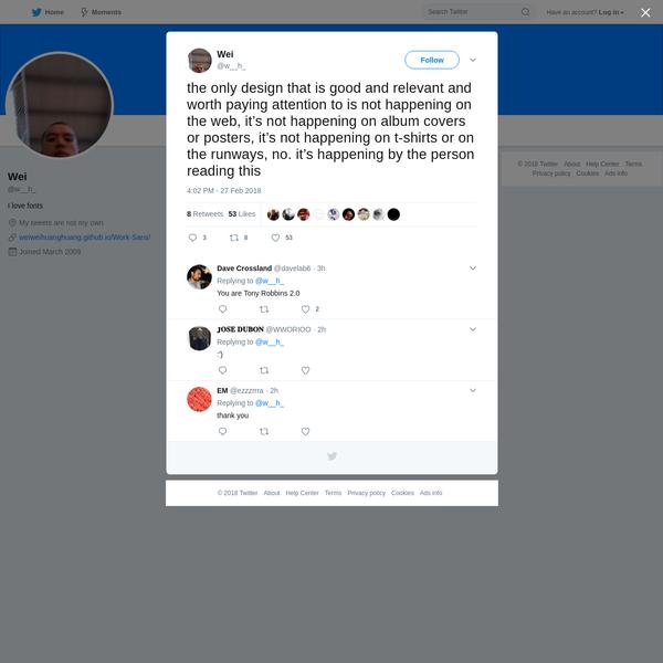 Wei on Twitter