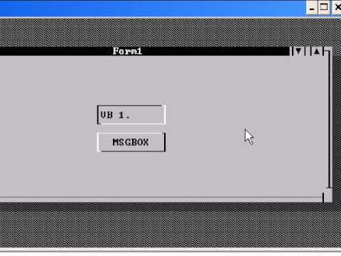 Visual Basic 1.0 para MS-DOS for MS-DOS (rare)