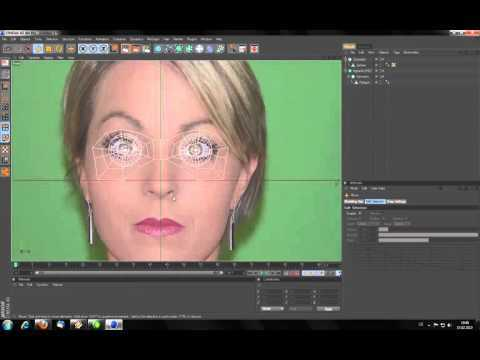 How to Model a head in Cinema 4D HD
