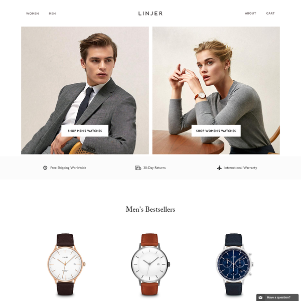 Linjer Leather Goods & Watches