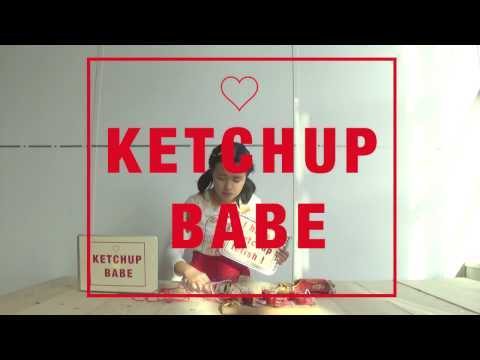 Ketchup babe for your ketchup fetish