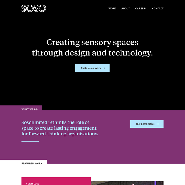 Sosolimited creates technology- and data-driven works that inspire and engage people meaningfully.