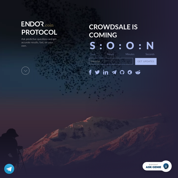 """After years at MIT, Endor invented the """"Google for predictive analytics"""", providing automated accurate predictions, fast, with no data science expertise required. Reinventing predictive analytics with proprietry Social Physics technology and massive machine power, Endor makes accurate predictions scalable and accessible to all."""