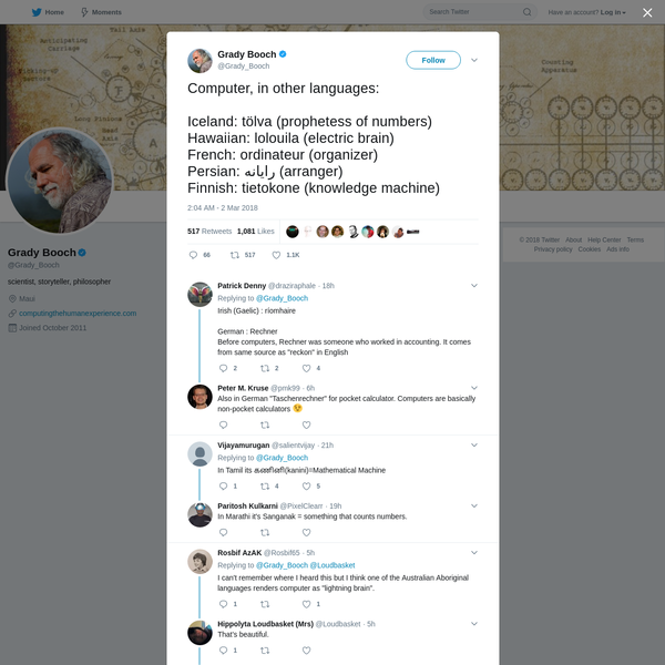 Grady Booch on Twitter