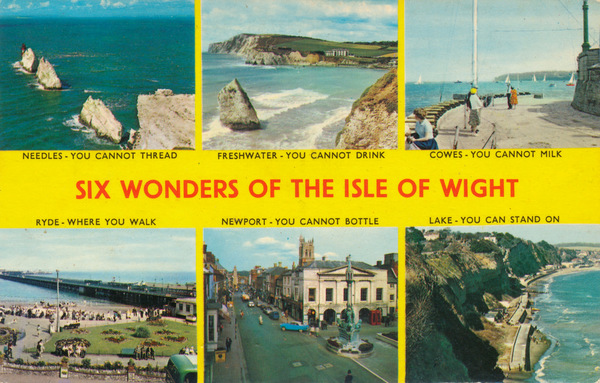 Six Wonders of the Isle of Wight (England)