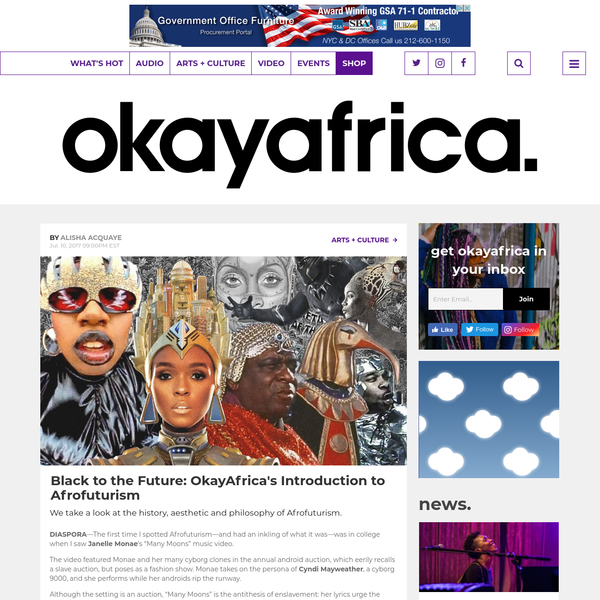 Black to the Future: OkayAfrica's Introduction to Afrofuturism