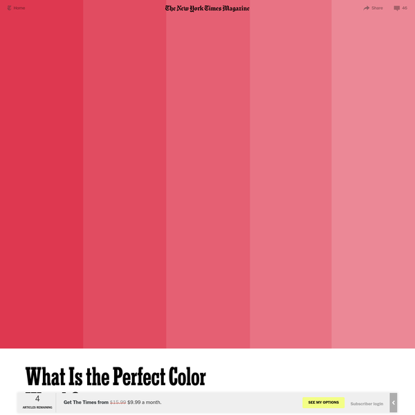 What Is the Perfect Color Worth?