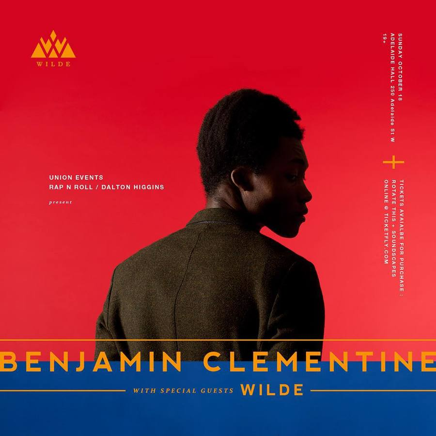 @we_are_wilde will be supporting @mrbenjaminclementine October 18th at @adelaidehallto - artwork @h_n_z