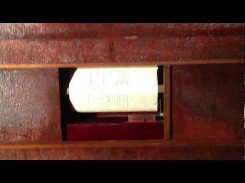 """Mister Sandman"" On A 1915 Fuehr & Stemmer Player Piano"