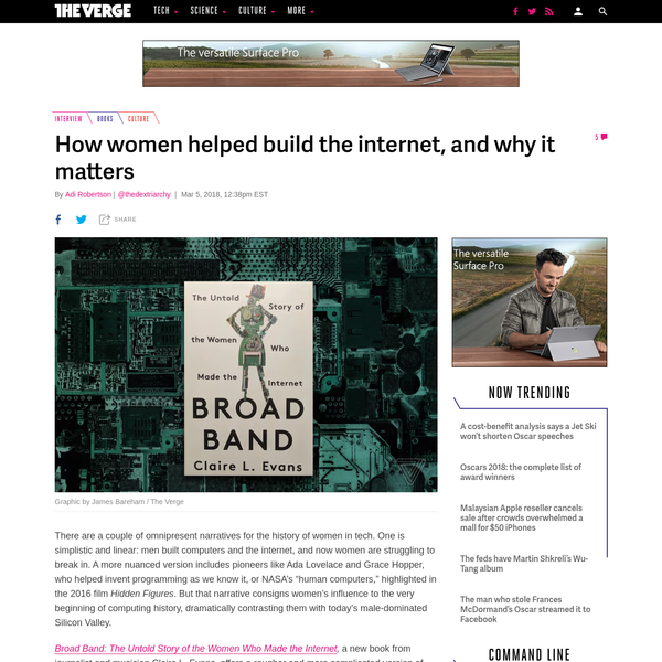 How women helped build the internet, and why it matters
