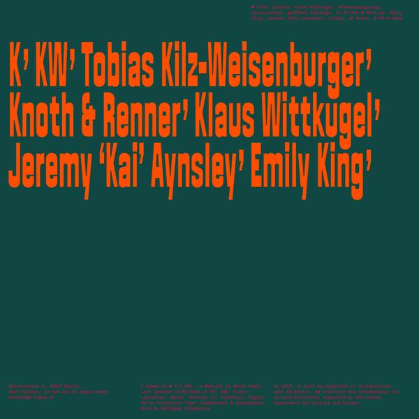 K, A Year with P. Krishnamurthy | items