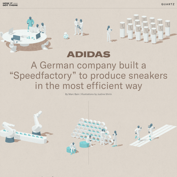 """A German company built a """"Speedfactory"""" to produce sneakers in the most efficient way"""