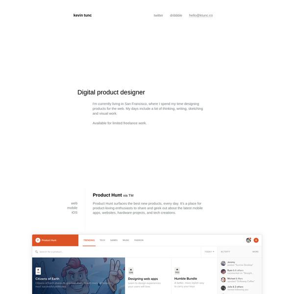 Digital Product Designer