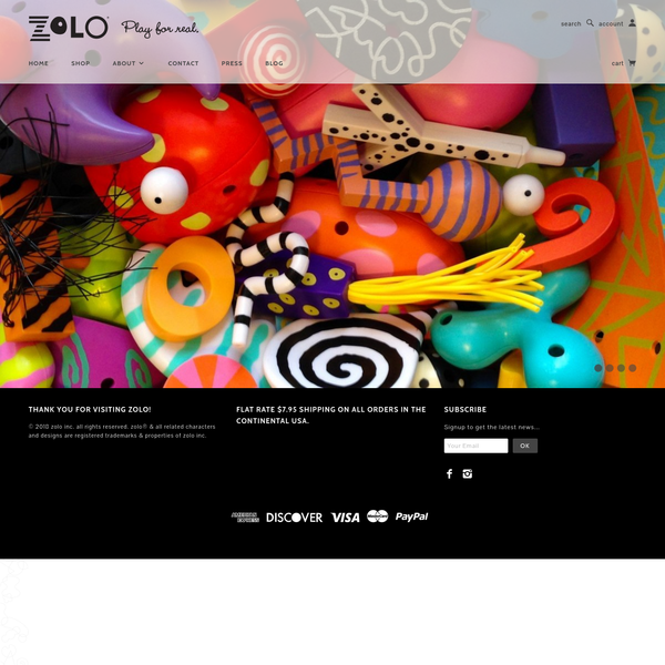 The official ZoLO® site by the designers of the original gender neutral art inspired building toy inspiring playful learning and creative thinking for all ages.