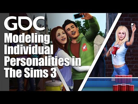 In this classic GDC 2010 talk, Sims 3 programmer Richard Evans explains how the individual personalities for The Sims were programmed, and shares the in-game visualization tools used for testing and refining their behavior. GDC talks cover a range of developmental topics including game design, programming, audio, visual arts, business management, production, online games, and much more.