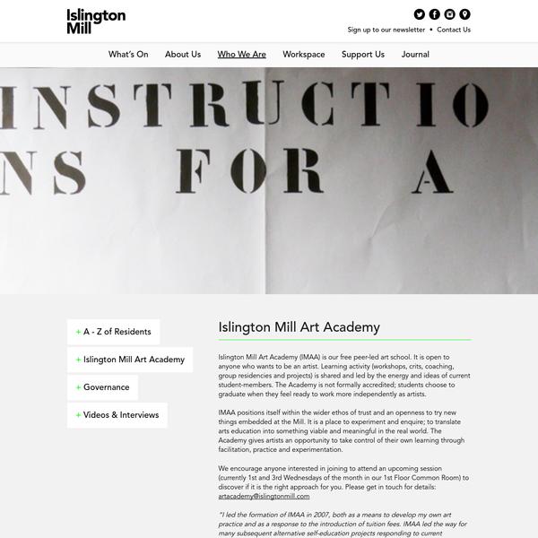 Islington Mill Art Academy - Islington Mill