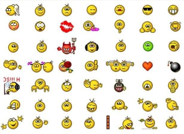 icq emoticons