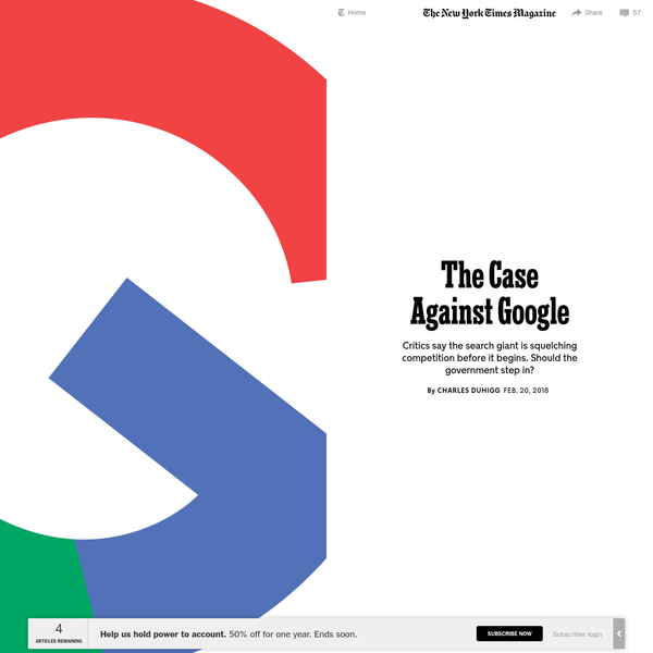 The Case Against Google