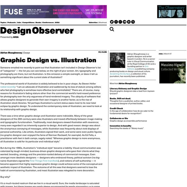 Graphic Design vs. Illustration