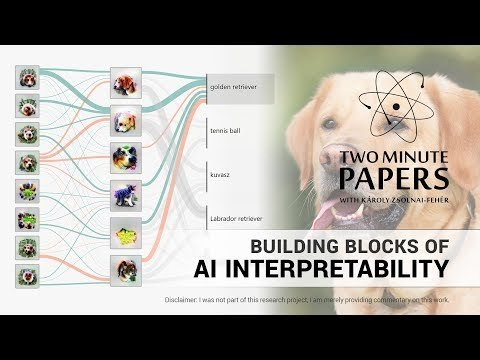 "The paper ""Building Blocks of Interpretability"" is available here: https://distill.pub/2018/building-blocks/ Our Patreon page: https://www.patreon.com/TwoMinutePapers We would like to thank our generous Patreon supporters who make Two Minute Papers possible: Andrew Melnychuk, Brian Gilman, Christian Ahlin, Christoph Jadanowski, Dennis Abts, Emmanuel, Eric Haddad, Esa Turkulainen, Evan Breznyik, Frank Goertzen, Malek Cellier, Marten Rauschenberg, Michael Albrecht, Michael Jensen, Nader Shakerin, Raul Araújo da Silva, Robin Graham, Shawn Azman, Steef, Steve Messina, Sunil Kim, Torsten Reil."