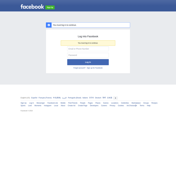 Log into Facebook | Facebook
