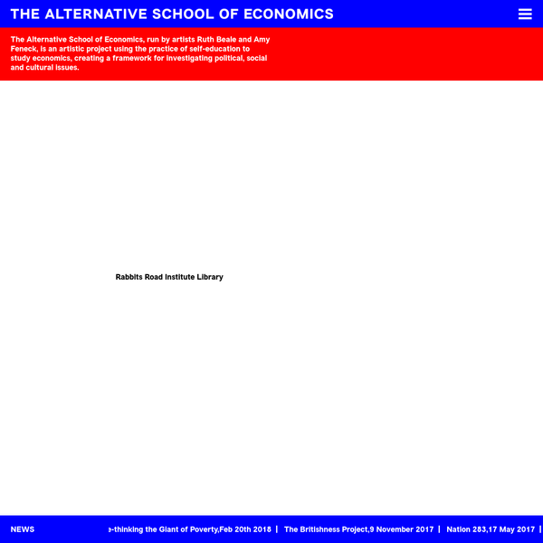 Alternative School of Economics - Alternative School of Economics