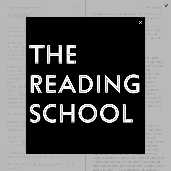 The Reading School
