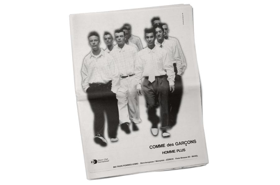 COMME DES GARCONS, HOMME PLUS