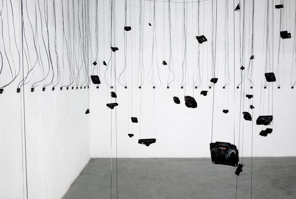 Christian Skjødt, Vibrant Disturbance II at In-Sonora viii sound art exhibition, madrid
