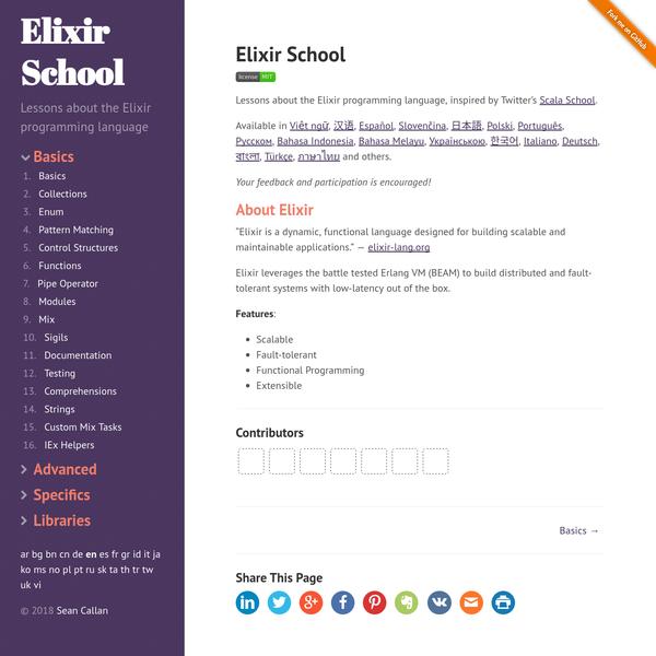 Elixir School