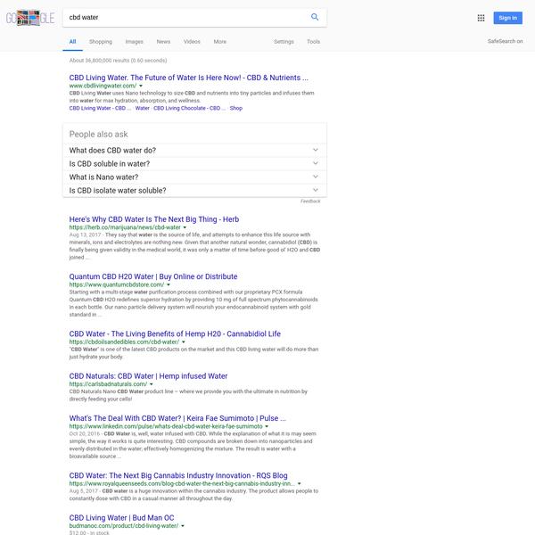 cbd water - Google Search