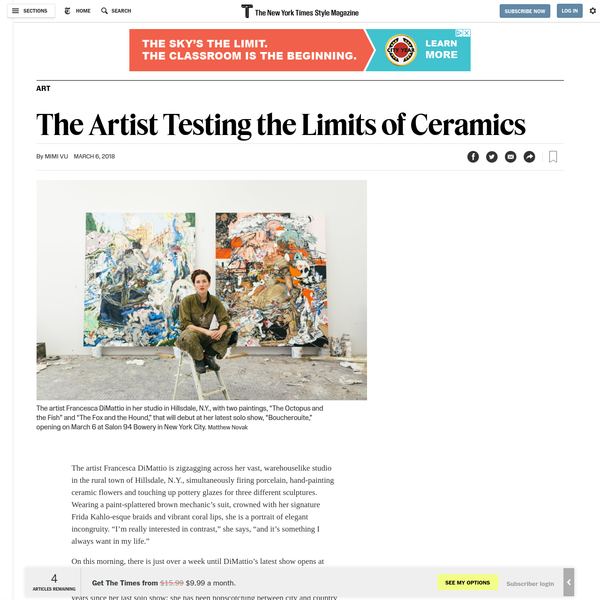 The Artist Testing the Limits of Ceramics
