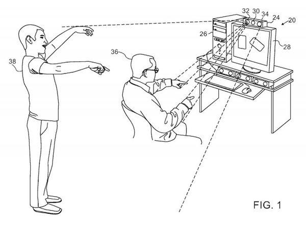 Apple motion capture system