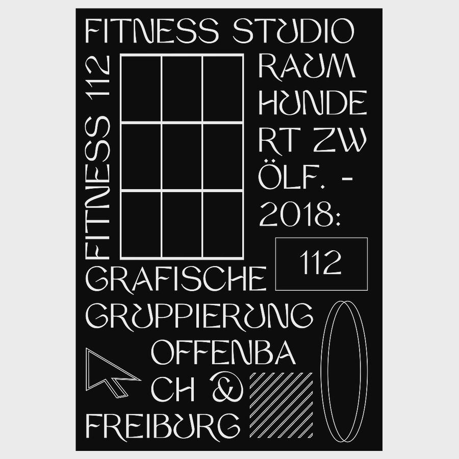 Raum 112 / Fitness Studio 🏋🏻♀️ (stay hydrated) Heavyweight Fitness gang @japparii . . . . . . . . . . . #obby1000 #typography #poster #print #lebenliebegrafik #typematters #serif #sanserif #typeinspire #danktype #dailytype #typedaily #utypism #betype #goodtype #strengthinletters #fashion #instadesign #swissposter #behance #nxxxxxs #c4d #drawdownbooks #swisstypefaces #graphicdesign #itsnicethat#visualgraphc #behance #graphicdesign #poster #posterdesign