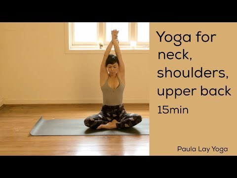 This Is A Beautiful Short Practice That Will Release Tension In The Neck Shoulders And