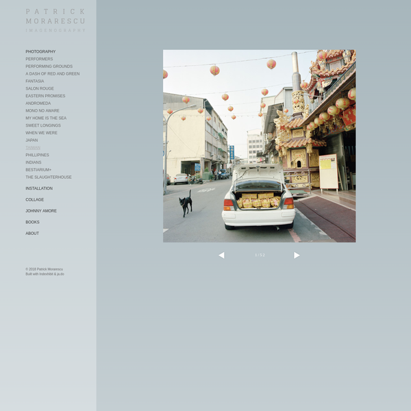 TAIWAN : Patrick Morarescu Imagenography