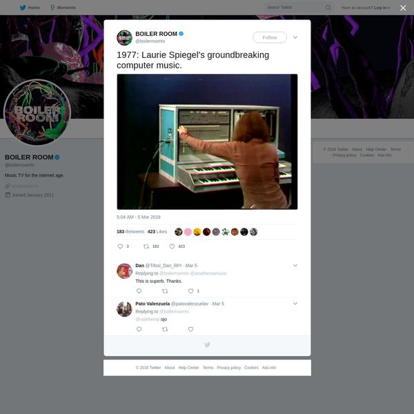 BOILER ROOM on Twitter