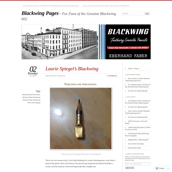Laurie Spiegel's Blackwing