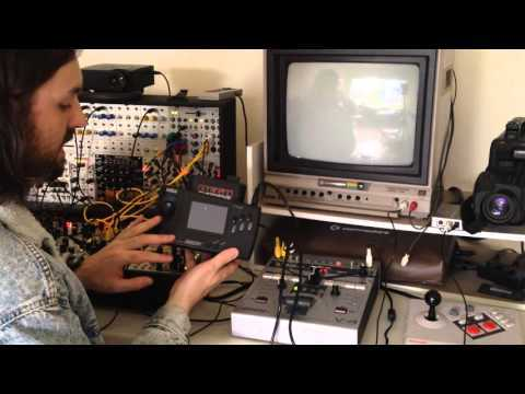 Interfacing MING and LZX systems with the Edirol V4 Video Mixer