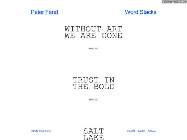 Peter Fend