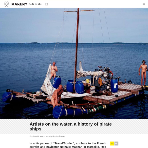 Artists on the water, a history of pirate ships